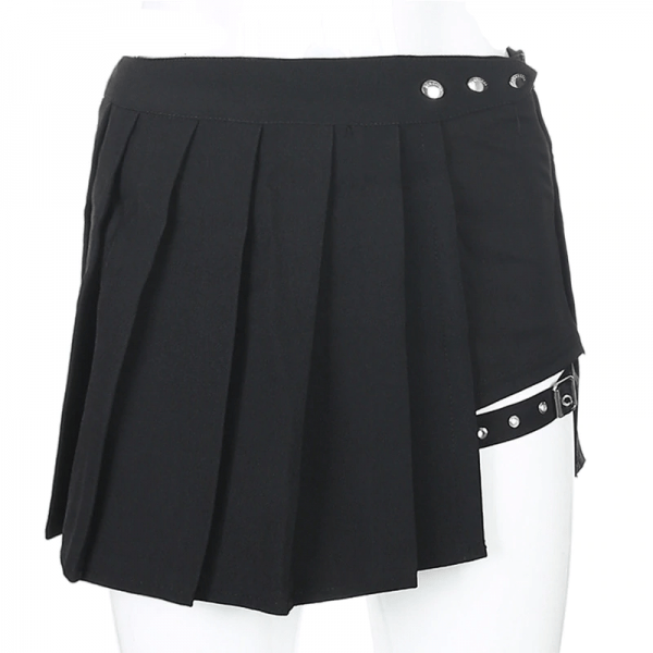 Open Mini Skirt with shorts 6