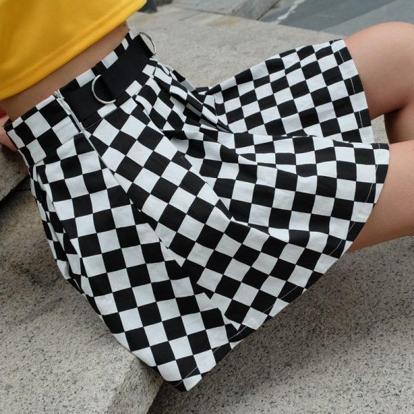 Checkered Harajuku Skirt  12
