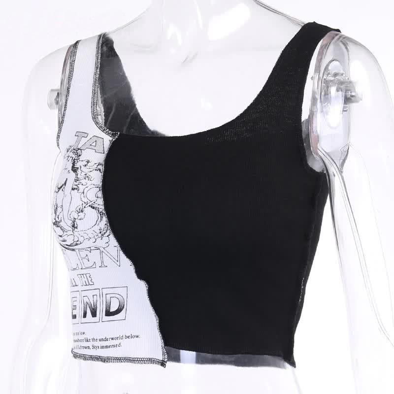 Tank Top with graphic print Egirl Punk 41