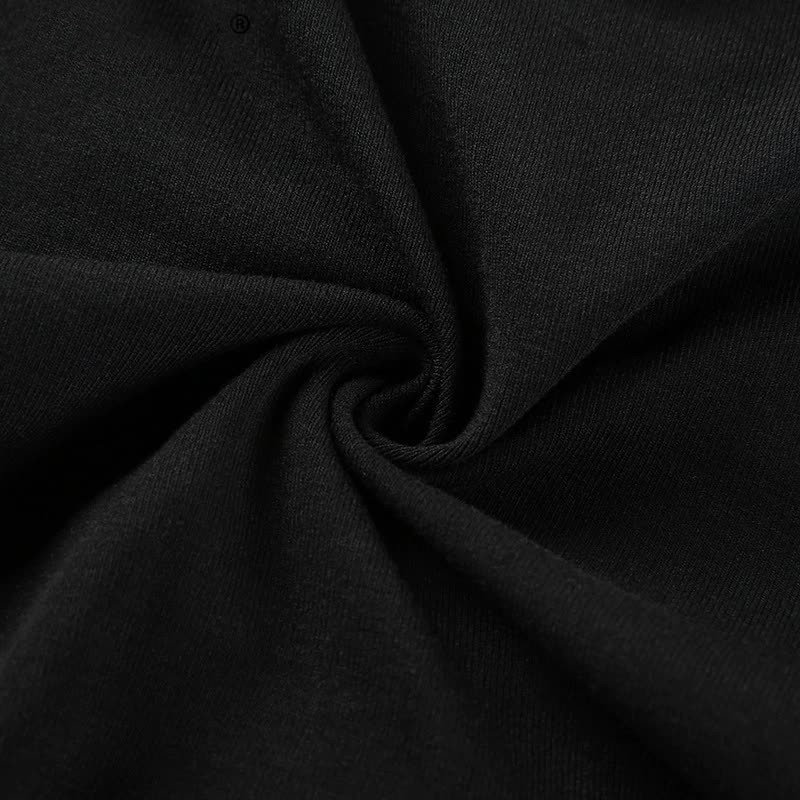 Pastel gothic Egirl Cut out Longsleeves crop top 47