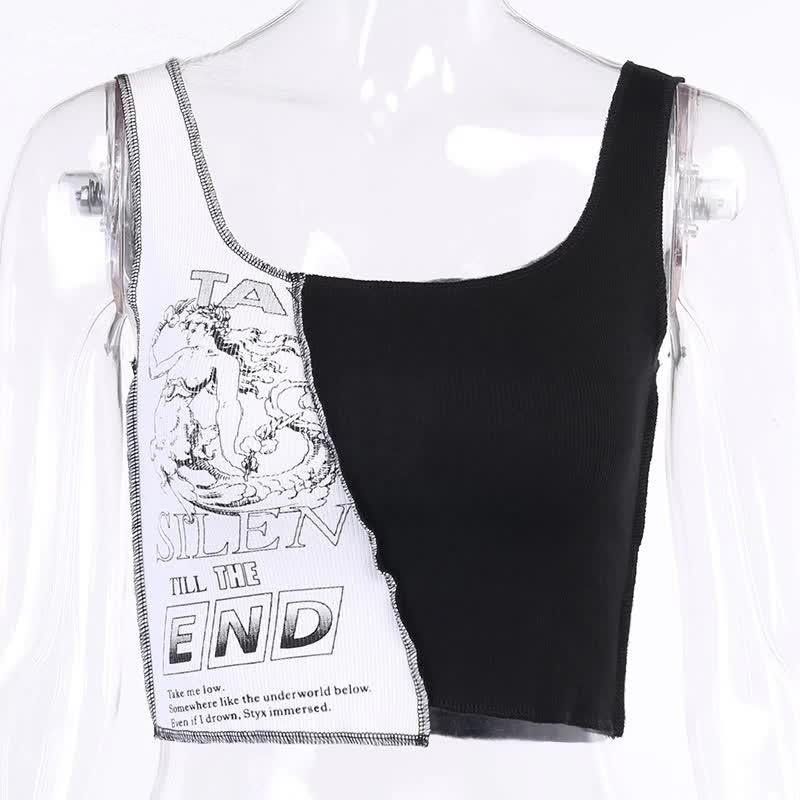 Tank Top with graphic print Egirl Punk 42