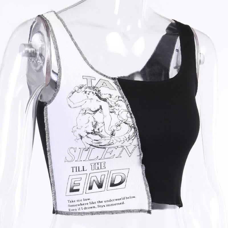 Tank Top with graphic print Egirl Punk 43