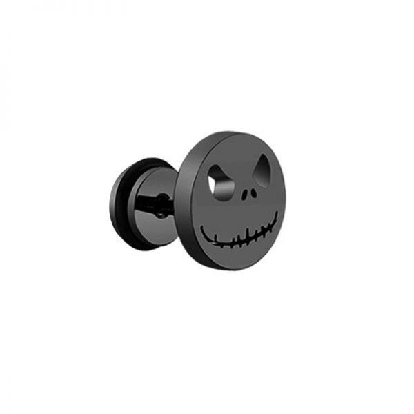 Punk Black Multiple Styles Stainless/Titanium Earrings 61