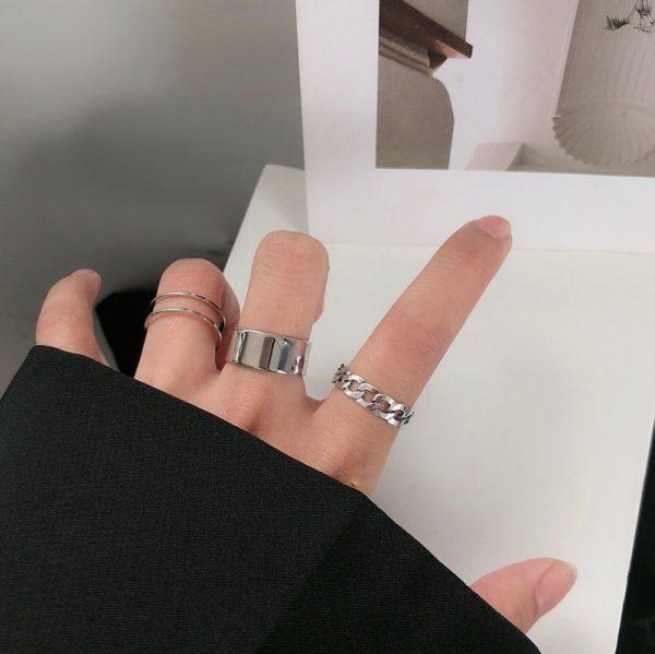 Resizable Rings set for fingers 2
