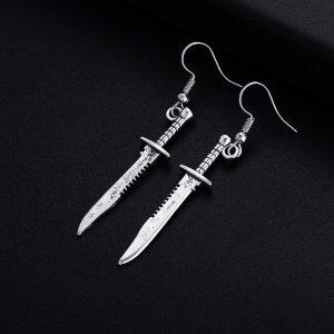 Knife Shape Earrings 1