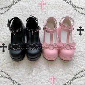 Lolita Kawaii Shoes Shoes 1