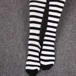 Long Stocking  Over The Knee (striped/dots) 5