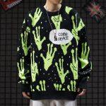Alien Knitted Sweater 2