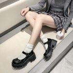 Lolita Vintage Shoes with High Heel Platform 14