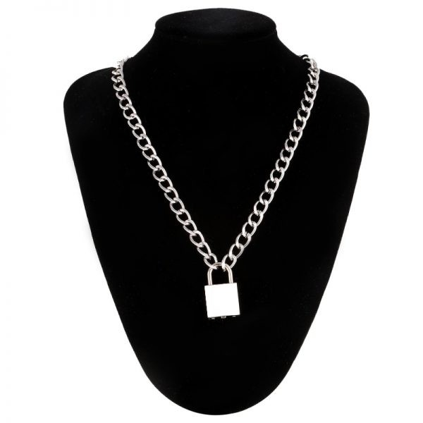 Chain With Lock Necklace 1