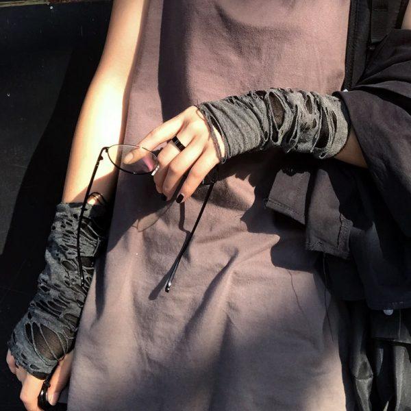 Punk / Grunge Fingerless Mitten 9