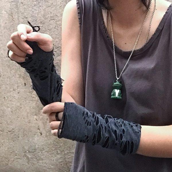 Punk / Grunge Fingerless Mitten 2