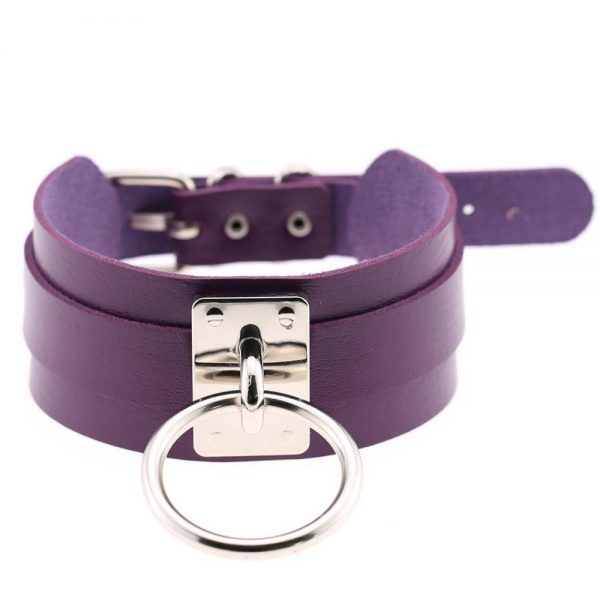 Wide Choker with Ring 33