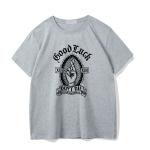 Gothic rose print T-shirt 10