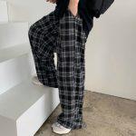 Plaid Oversize Pants 3