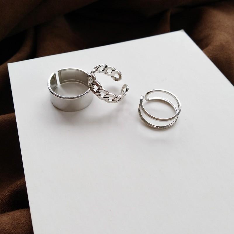 Resizable Rings set for fingers 62