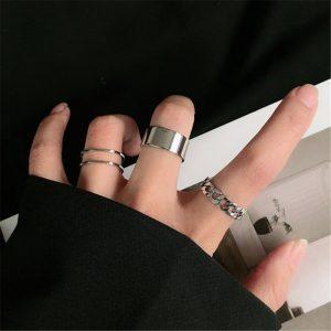 Resizable Rings set for fingers 1