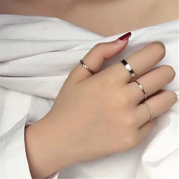 Resizable Rings set for fingers 40
