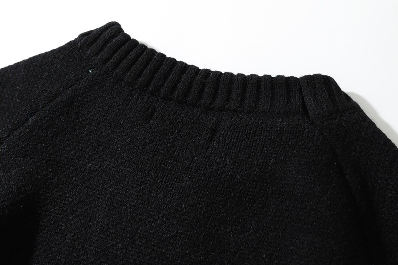 Flame Pattern Sweater E-girl E-boy 42