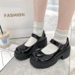 Lolita Vintage Shoes with High Heel Platform 2
