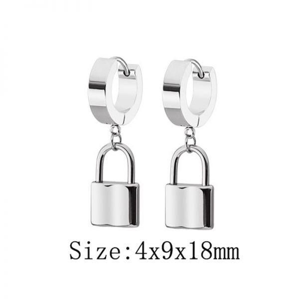 E-boys / E-girls Gothic Punk Earring with various pendants_17  2