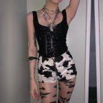 Black Lace Tank Top 3