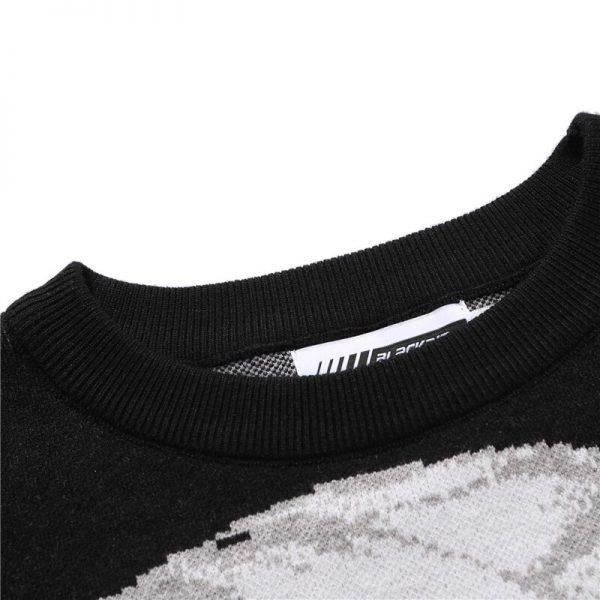 Harajuku Sweater with Anime print 4