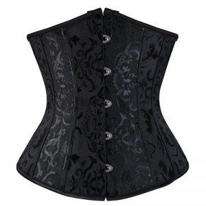 Gothic Underbust Corset  Plus Size 1