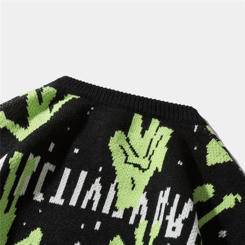 Alien Knitted Sweater E-girl 48