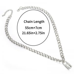 Chain With small Lock pendant 7