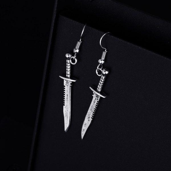 Knife Shape Earrings 3