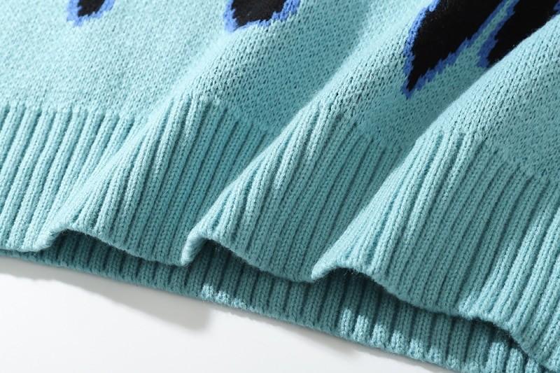 Flame Pattern Sweater E-girl E-boy 46