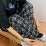 Plaid Oversize Pants 6