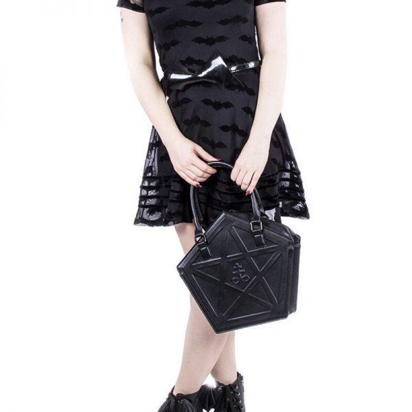 Pentagram Punk Gothic Star Handbag 6