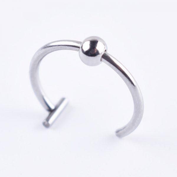 Medical Titanium steel  lips / nose Fake Ring 14