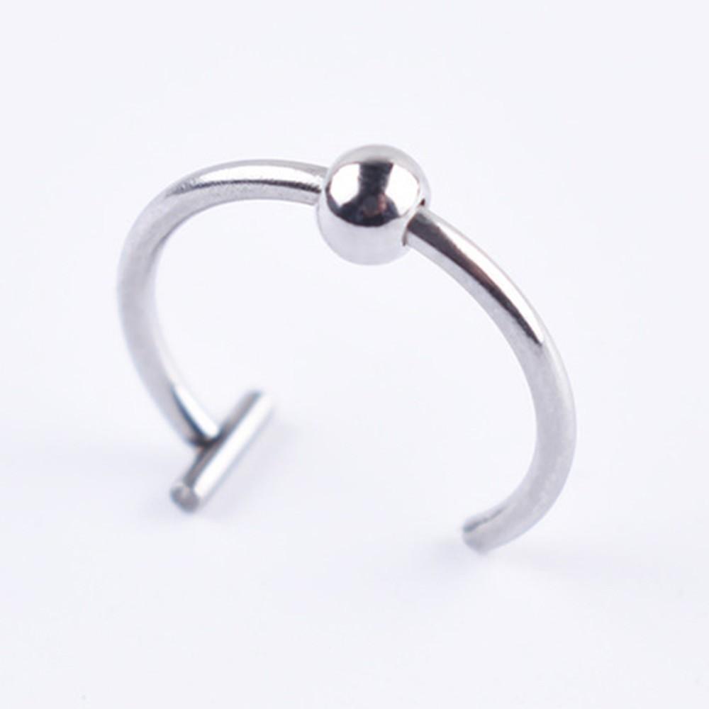 Medical Titanium steel lips / nose Fake Ring E-girl Punk 44