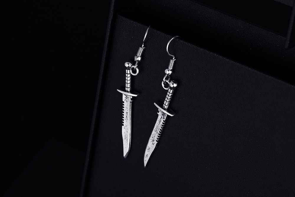 Knife Shape Earrings 43