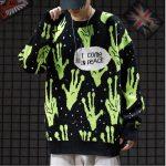 Alien Knitted Sweater 8