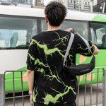 Lightning print T-shirt 5