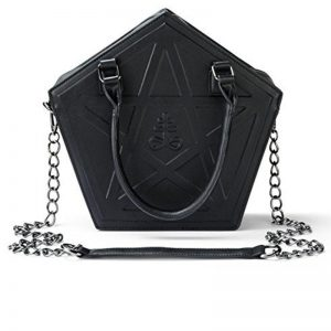 Pentagram Punk Gothic Star Handbag 1