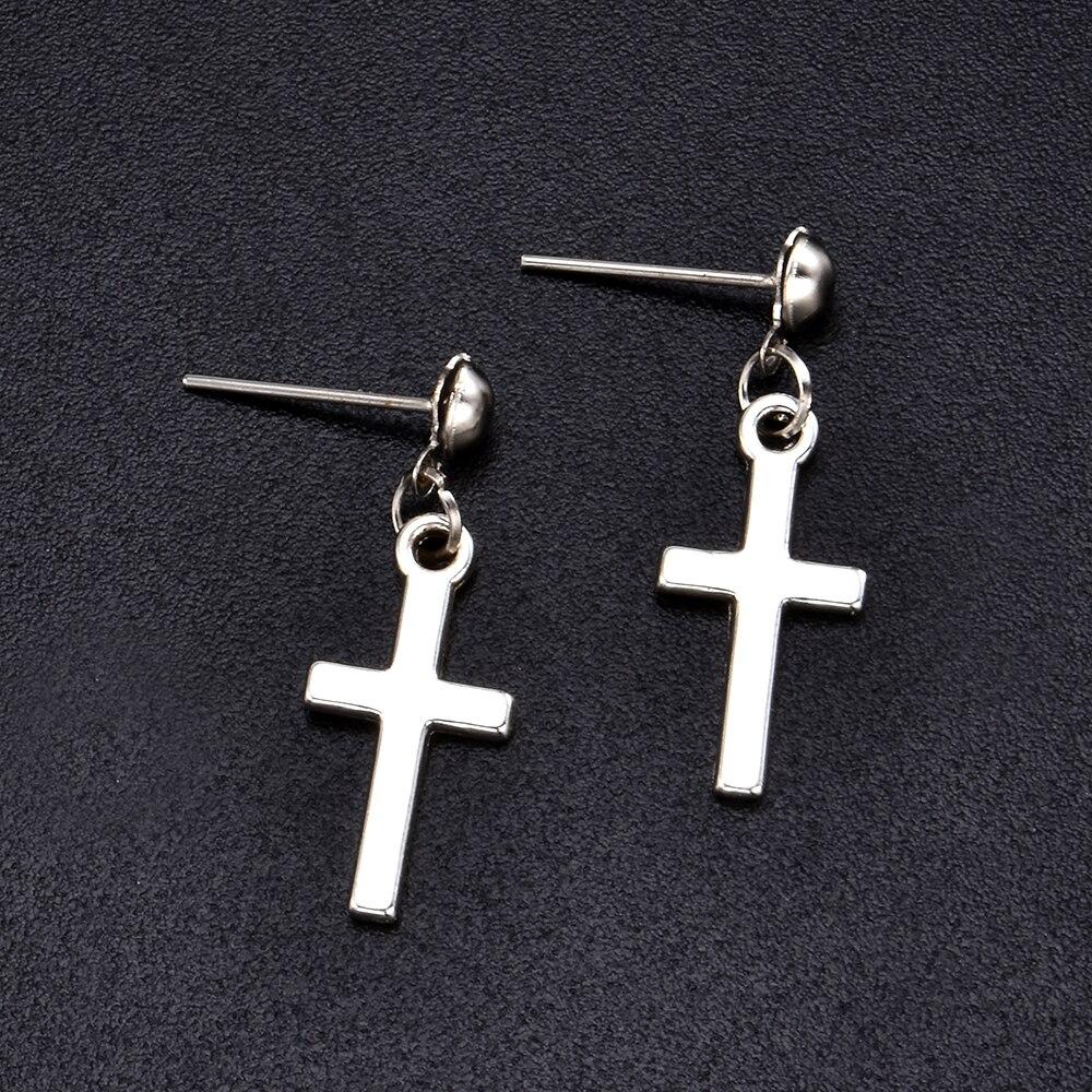 Cross pendant Earrings 44