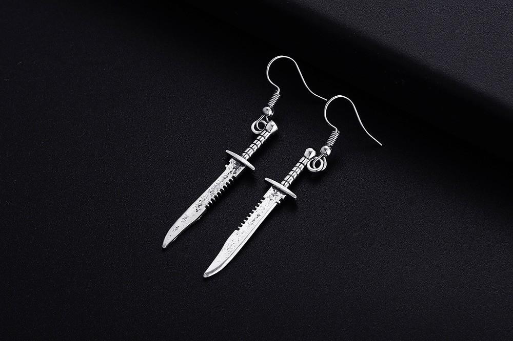 Knife Shape Earrings 41