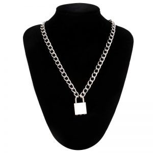 Chain With Lock Necklace 14