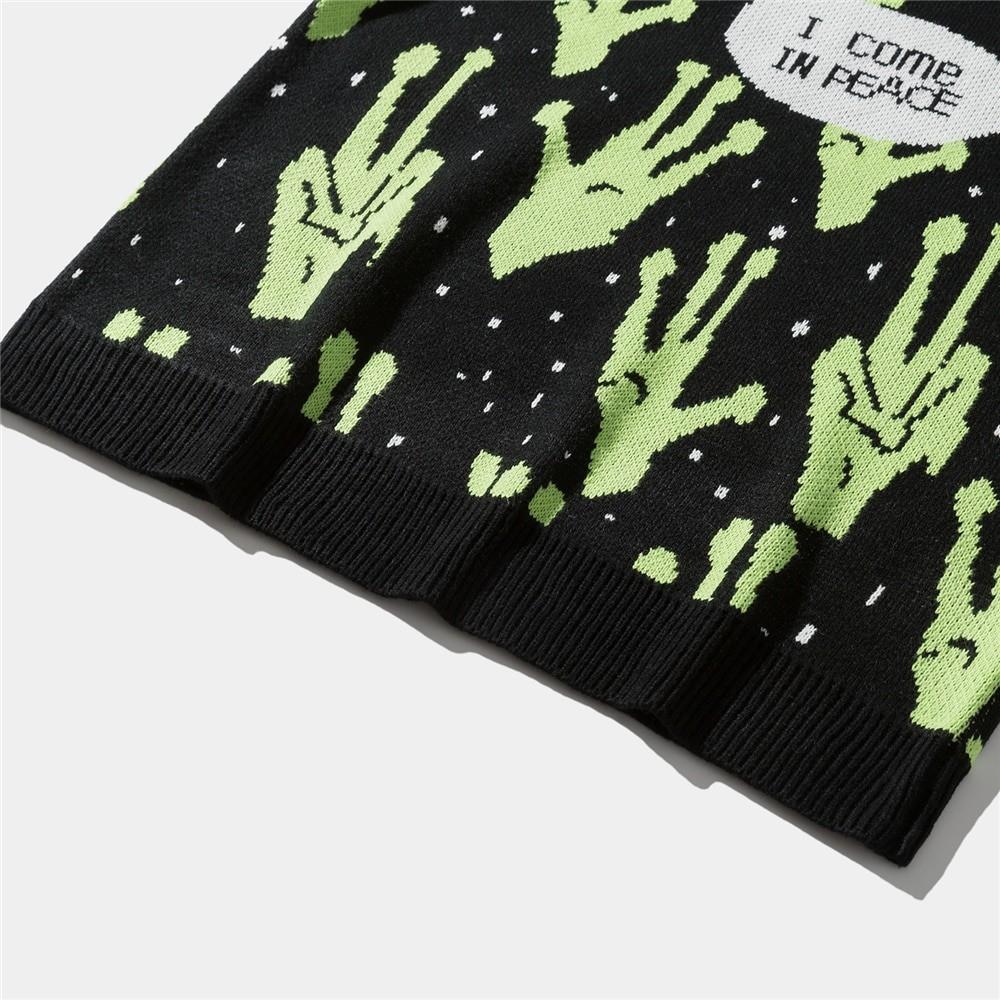 Alien Knitted Sweater E-girl 45