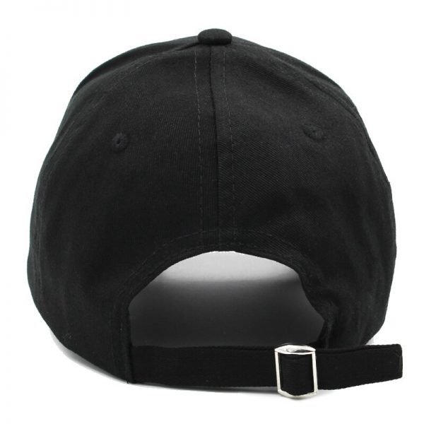 Baseball cap with Iron rings and pendants 4