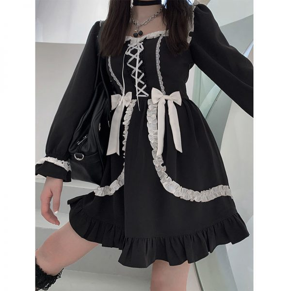 Japanese Lolita Gothic Dress 2