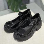 Lolita Vintage Shoes with High Heel Platform 26