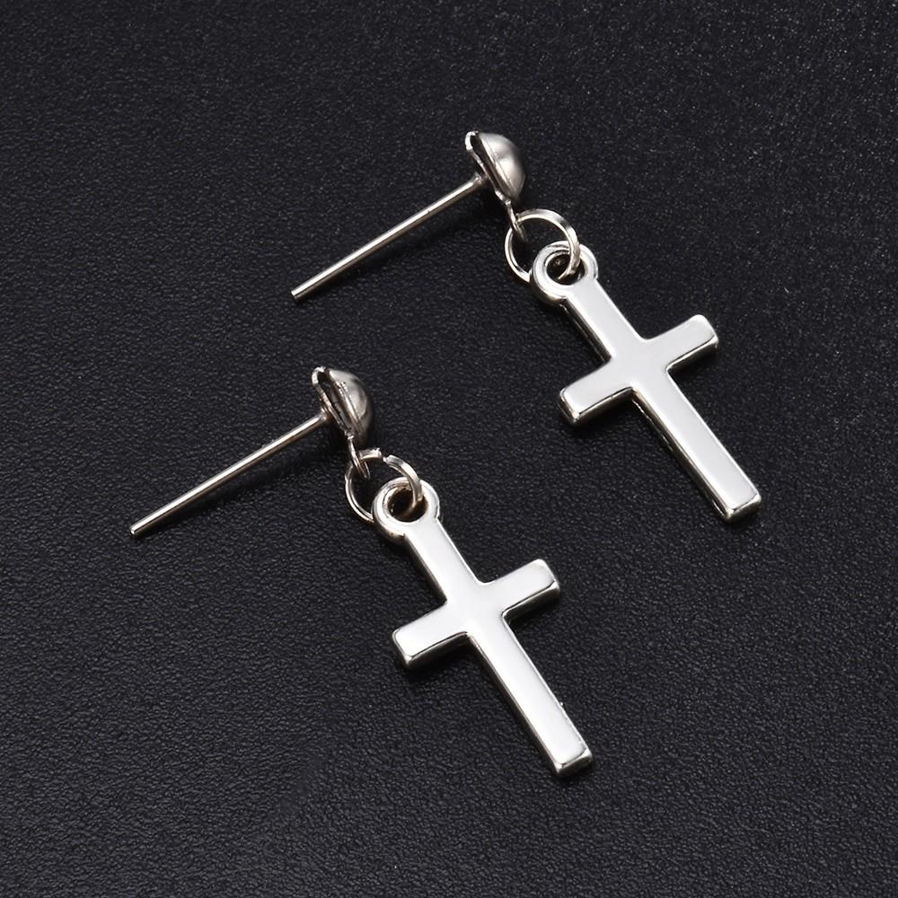 Cross pendant Earrings 45