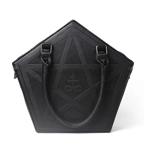 Pentagram Punk Gothic Star Handbag 4