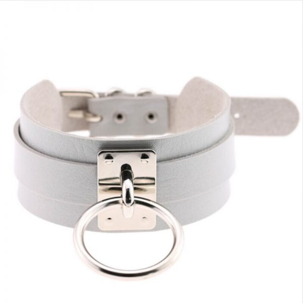 Wide Choker with Ring 4